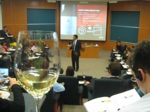 Wine tasting at IPADE